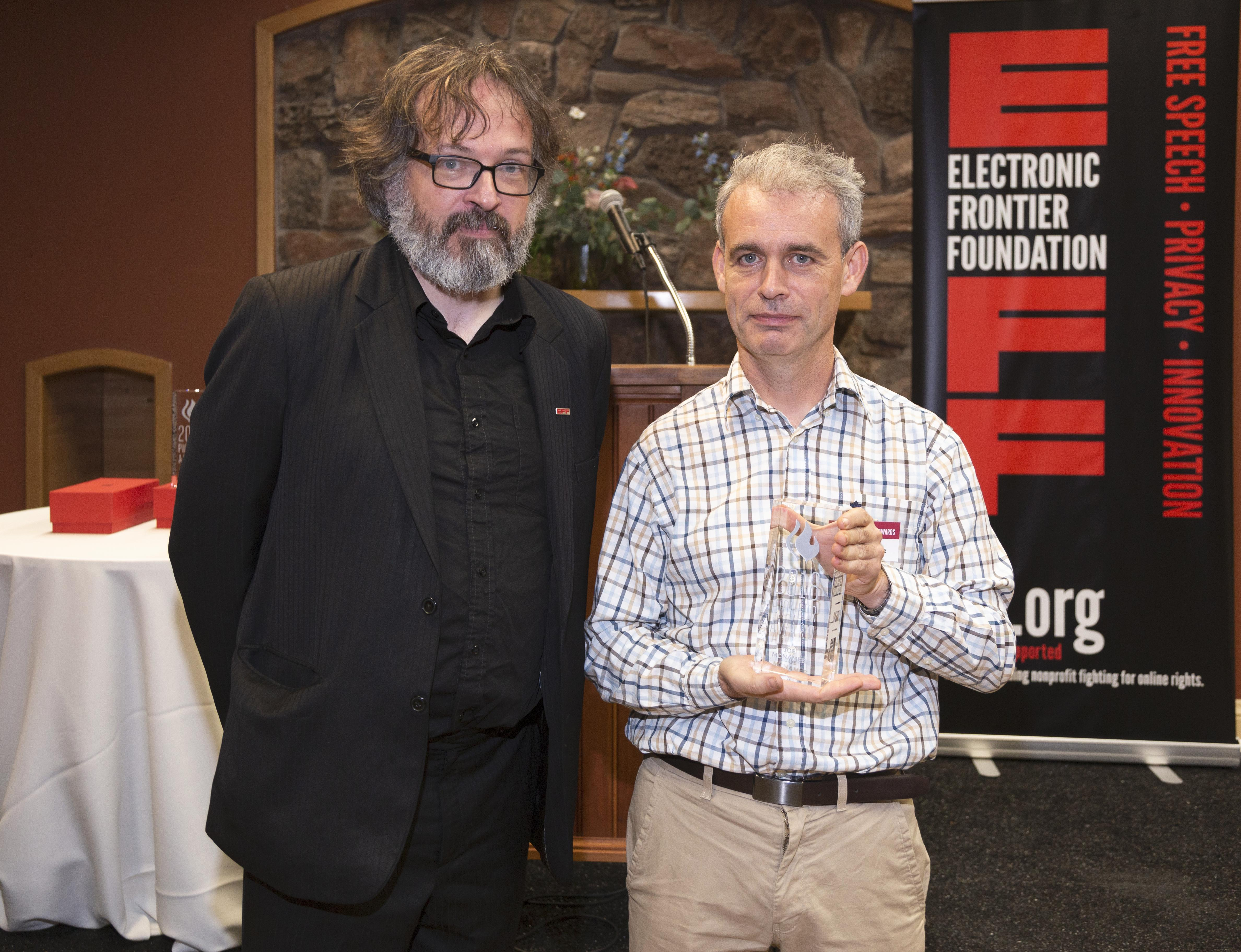 EFF's International Director, Danny O'Brien and