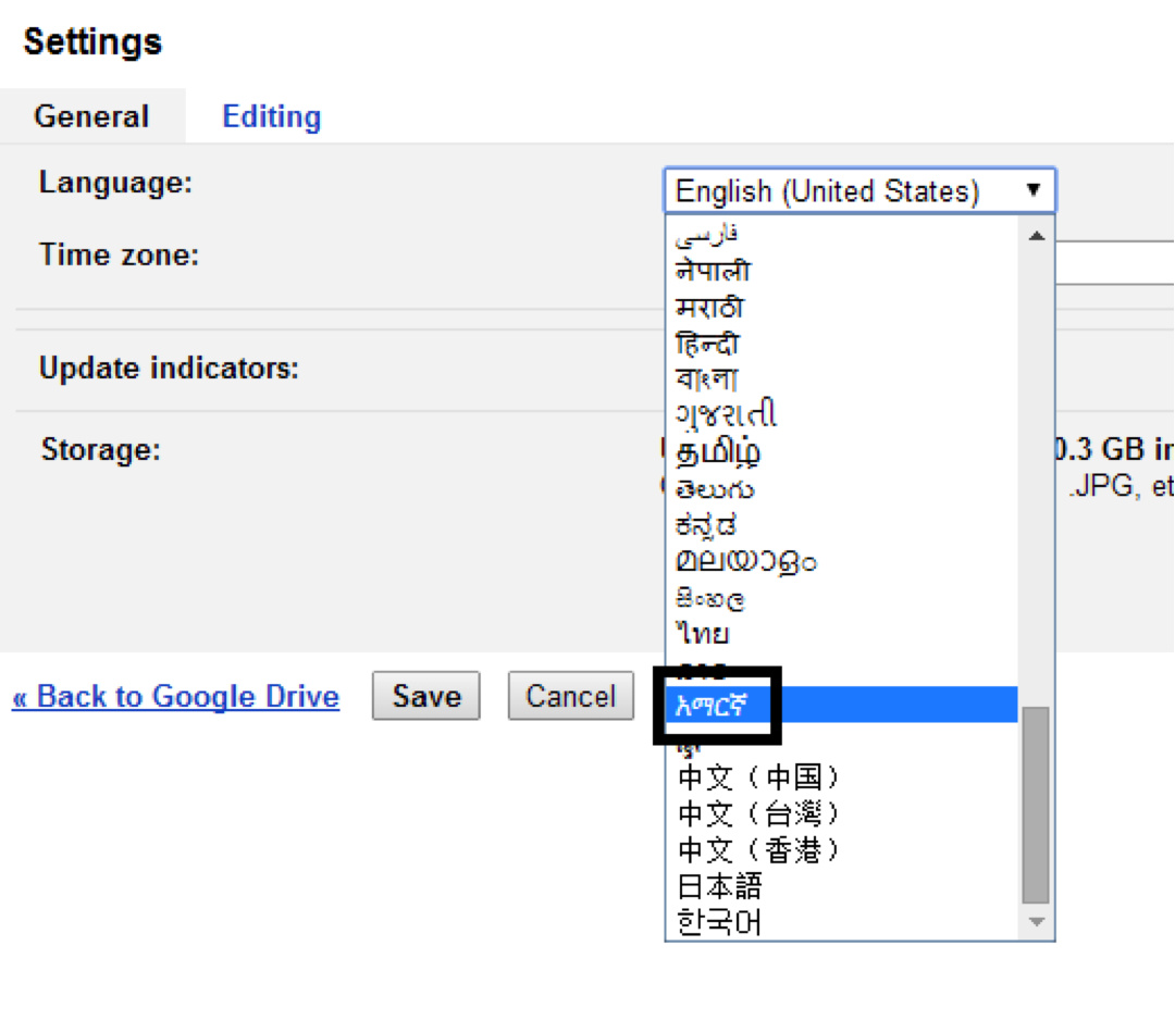 how to enable amharic in google docs and why it matters to