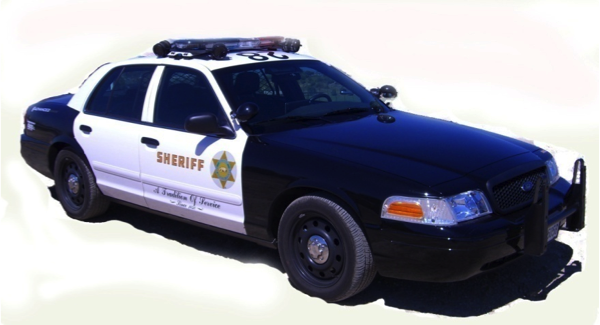 LA Sheriff's Department Squad Car with ALPR Cameras