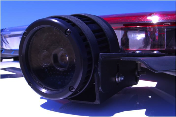 ALPR Camera Mounted on Squad Car