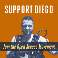 Support Diego Gomez, Fight for Open Access!