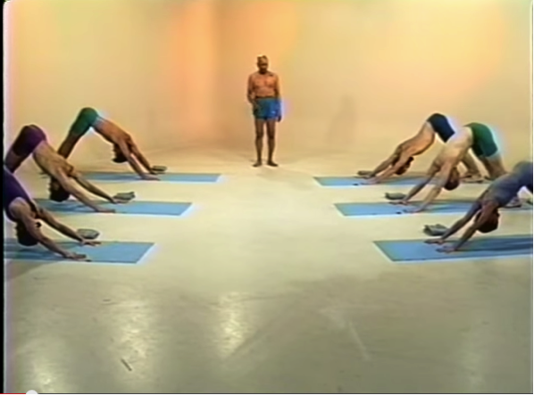 Yoga Video from 1993