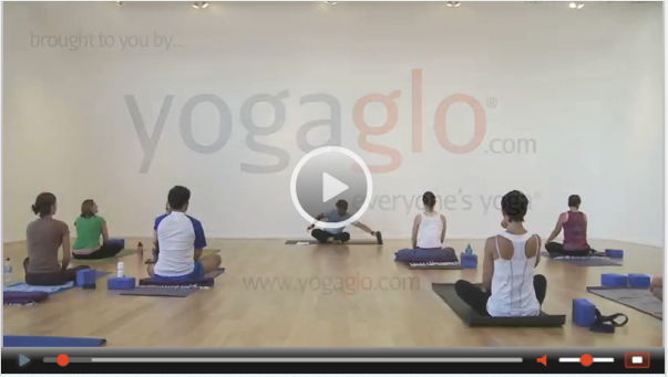 Yoga Video from 2009