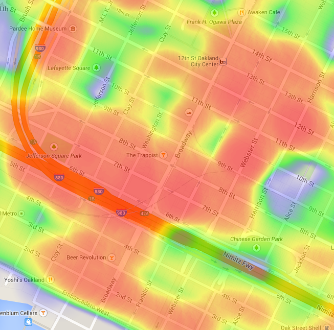What You Can Learn from Oakland\'s Raw ALPR Data | Electronic ...