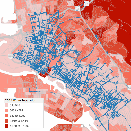 The Per Capita Data And The White Population Data Significantly Overlaps If You Are Driving Through Or Parking Your Car In A Neighborhood With A Higher