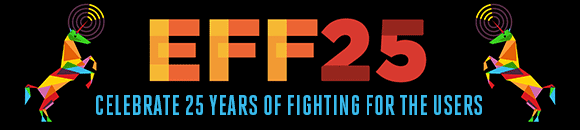EFF25 Campaign | Electronic Frontier Foundation