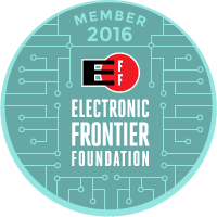 Electronic Frontier Foundation Member 2016