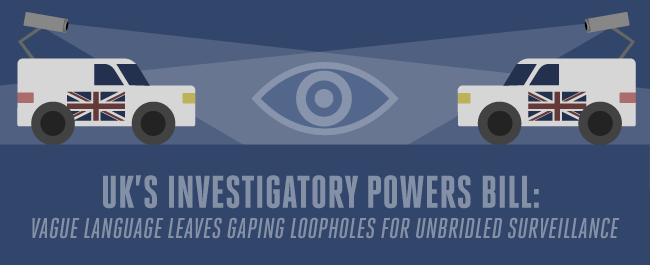 UK's Investigatory Powers Bill: Loopholes Within Loopholes Will Lead to Unbridled Surveillance