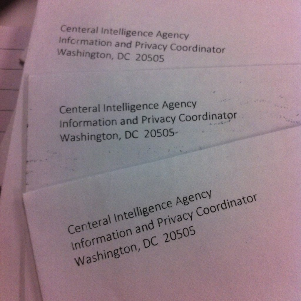 """Centeral Intelligence Agency"""