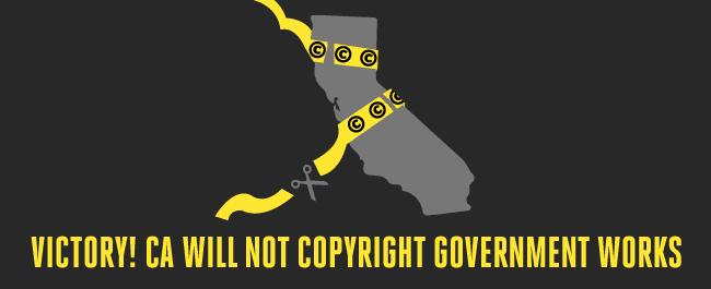 California Legislature Drops Proposal to Copyright All Government Works
