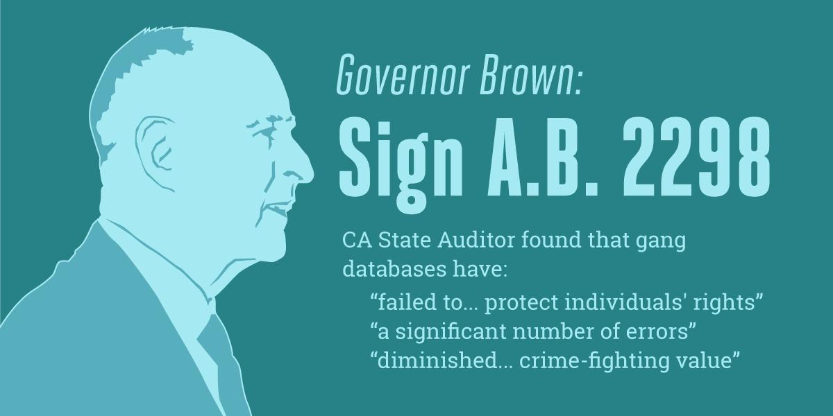 Demand California Fix CalGang, A Deeply Flawed Gang Database