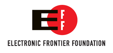 EFF logo stacked text