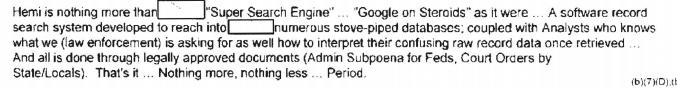 "Law Enforcement's Secret ""Super Search Engine"" Amasses Trillions of Phone Records for Decades"