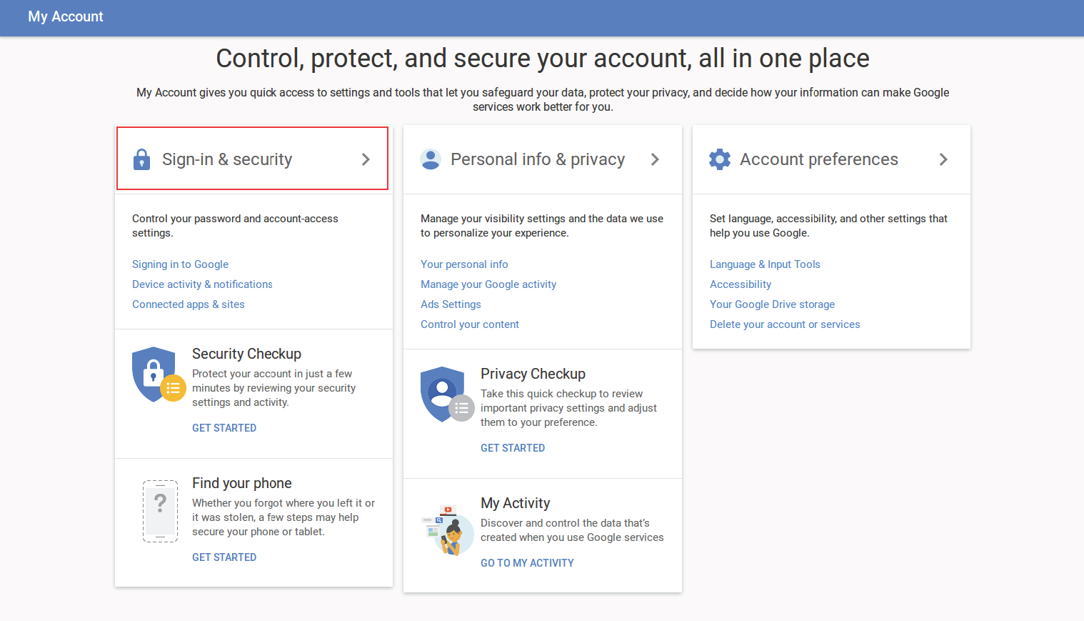 How To Enable Two-Factor Authentication on Gmail and Google | Electronic  Frontier Foundation