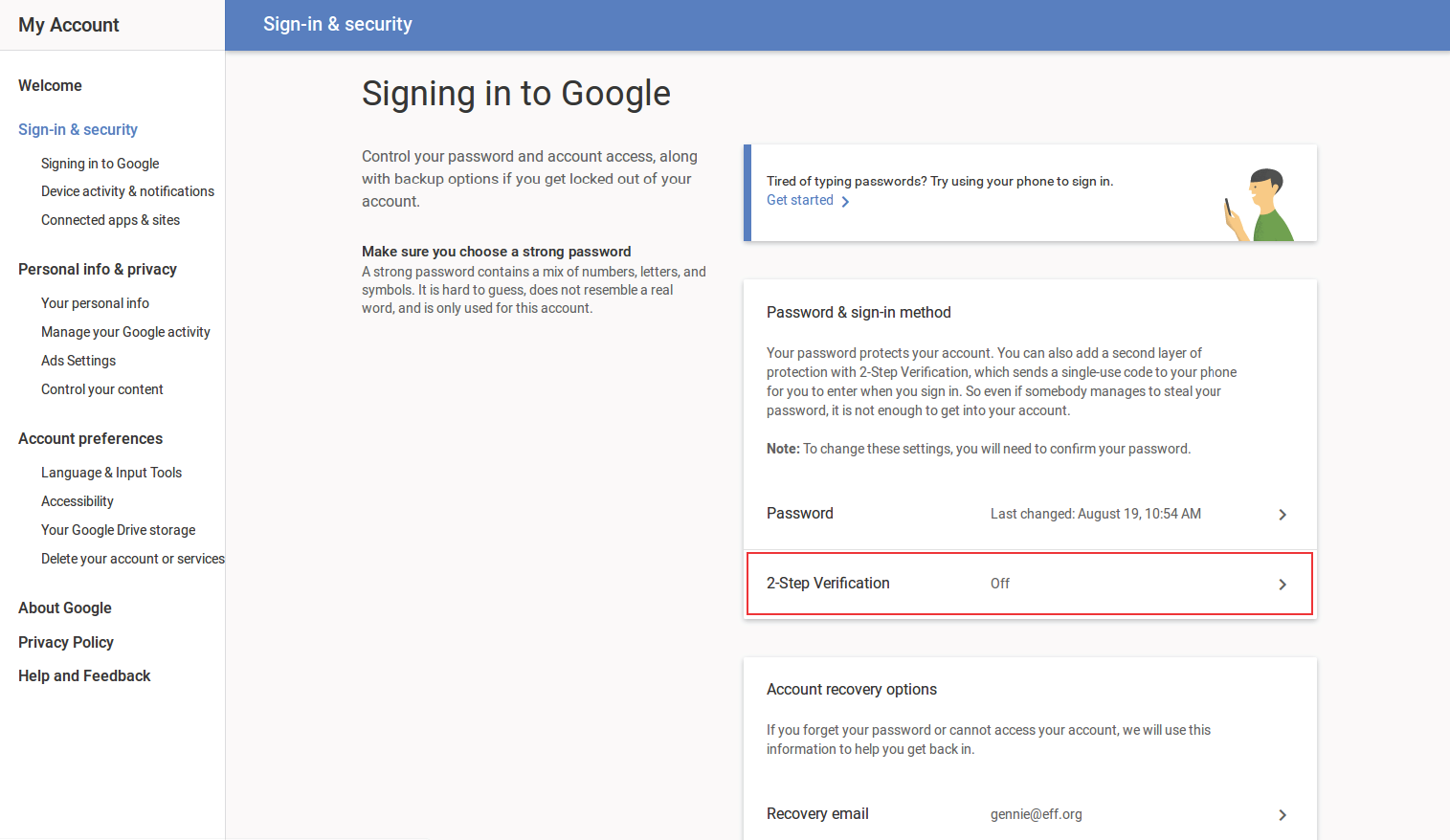 How To Enable Two-Factor Authentication on Gmail and Google