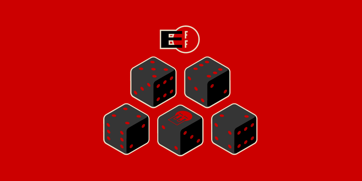 EFF Dice-Generated Passphrases