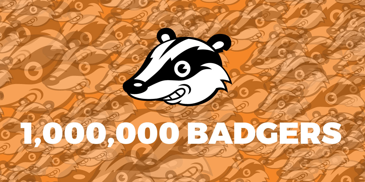 One Million Badgers