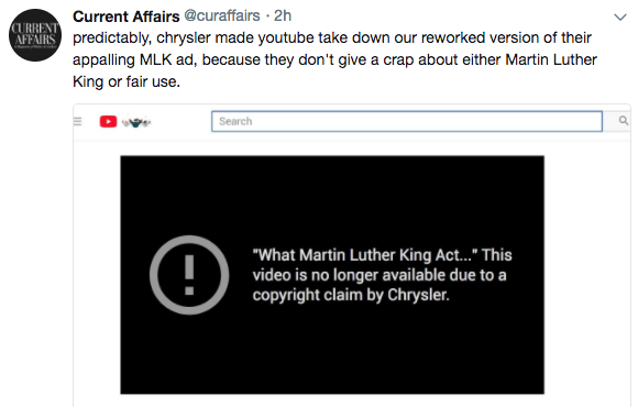 Fair Use Overcomes Chrysler's Bogus Copyright Notice