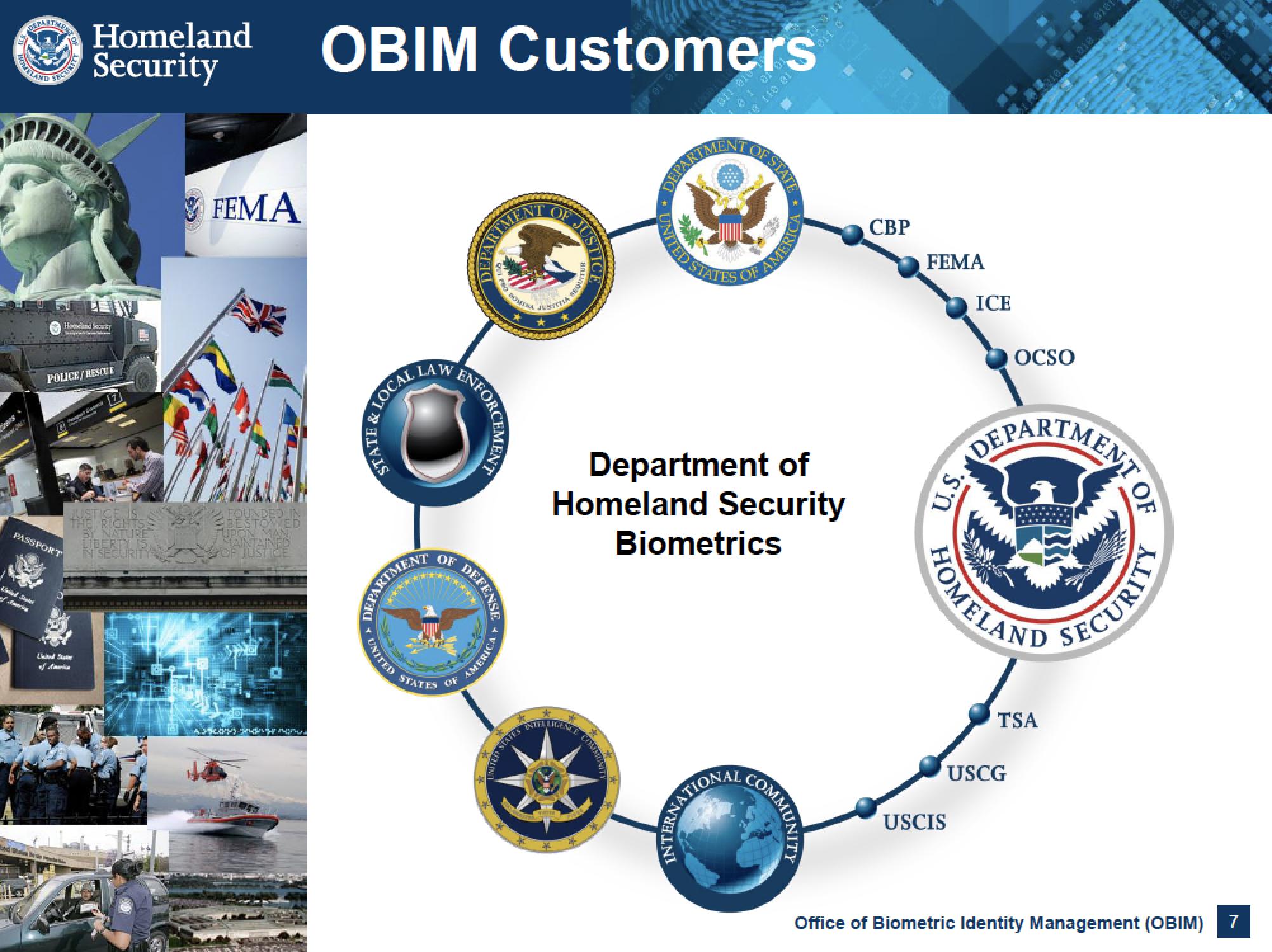 DHS Partner Agencies