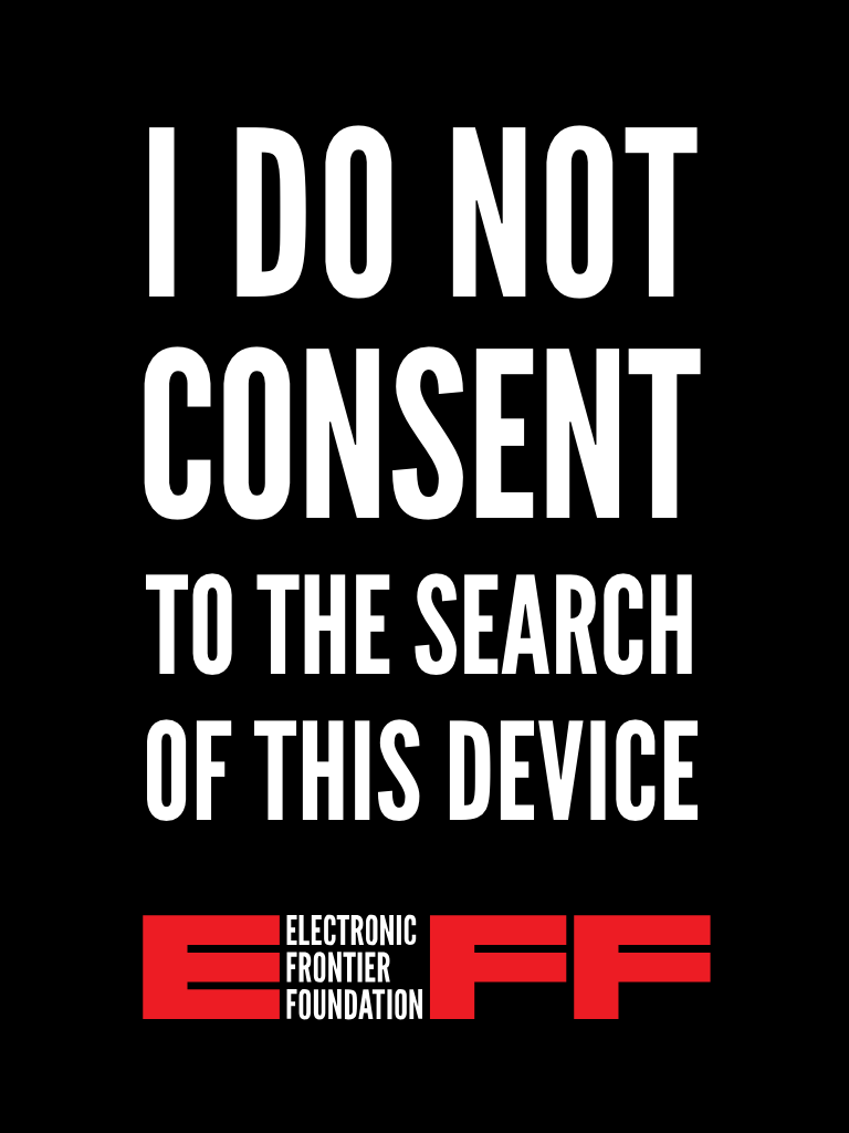 Eff Screen Lock Images New Logo Electronic Frontier