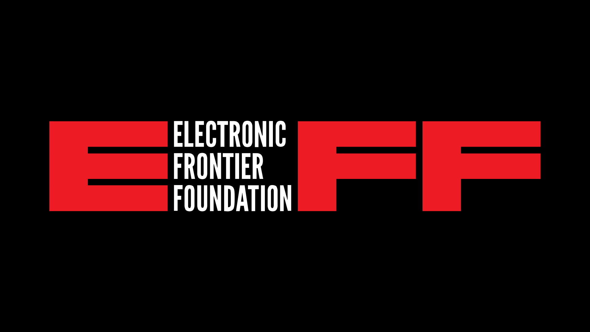 Logotipo de la Electronic Frontier Foundation \ Visto en Ciberninjas
