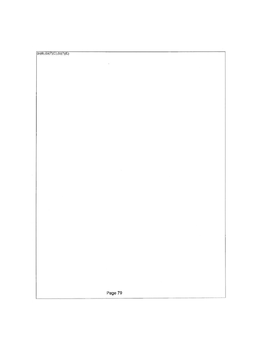A completely redacted document