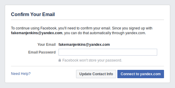 Facebook Got Caught Phishing For Friends | Electronic