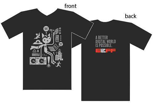 EFF Grey 2019 Member T-Shirt