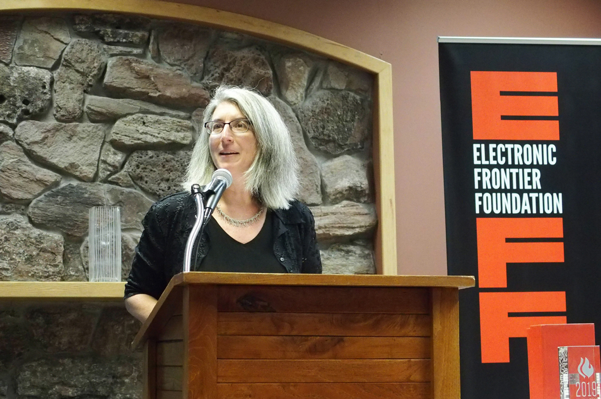 EFF's 2019 Pioneer Awards Winner Remarks and Speeches