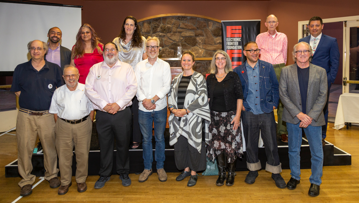 2019 Barlow recipients and speakers