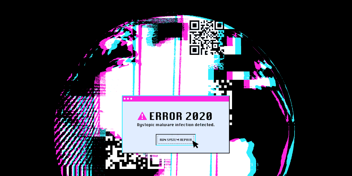 EFF's Error 2020 member t-shirt design for DEF CON 28