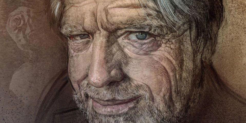 John Perry Barlow, illustration
