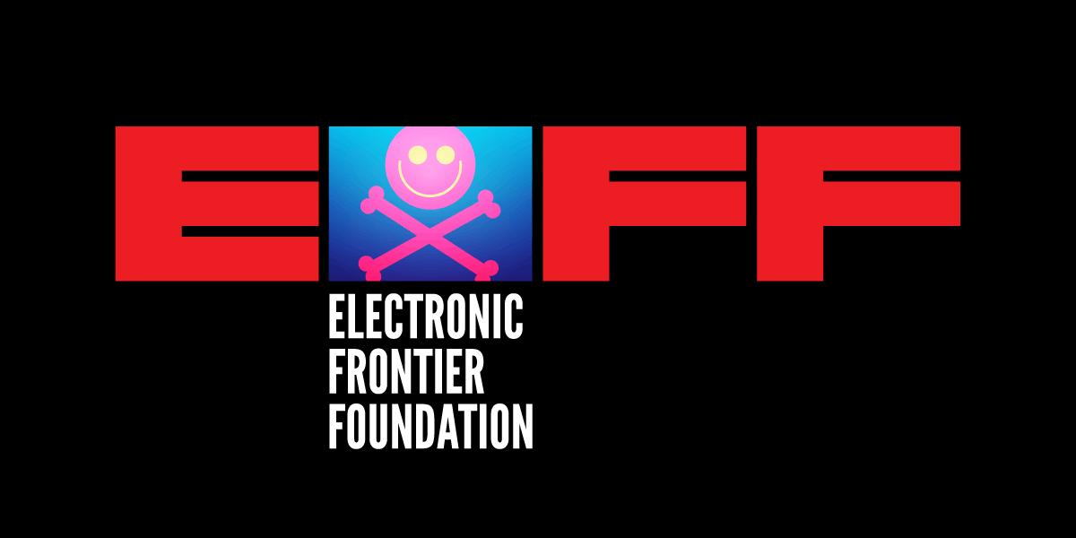 Defcon 2019 EFF logo banner