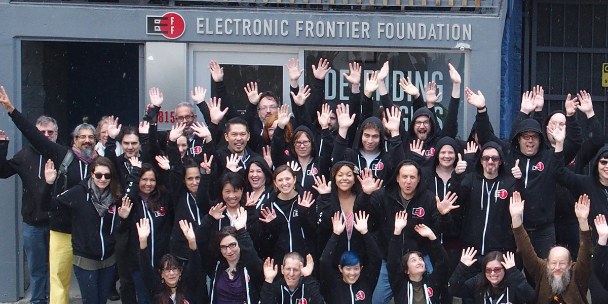 New Writing and Management Role on EFF's Fundraising Team