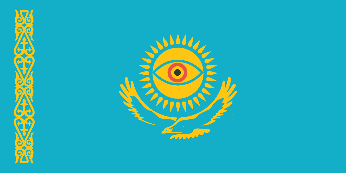 Kazakhstan flag spying