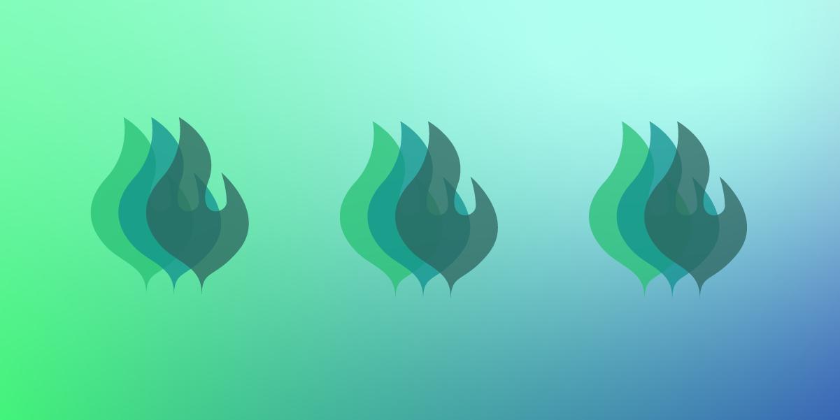 Pioneer Award Flame Logo