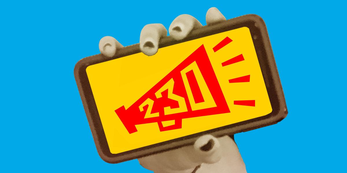 Stop SESTA: 230 icon in phone