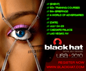 Black Hat Briefings in Las Vegas from July 28-29