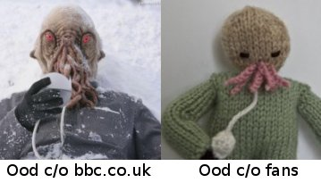 Free Knitting Patterns For Toys And Dolls : ADIPOSE DR WHO KNITTING PATTERN DESIGNS & PATTERNS