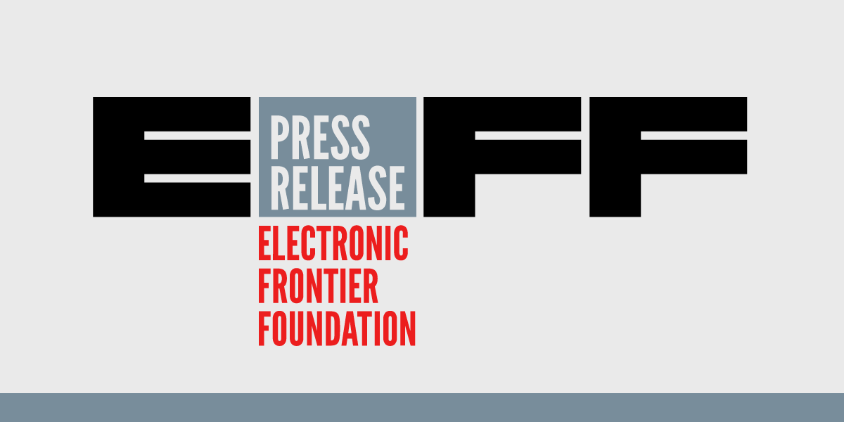 Media Briefing Monday: EFF and Partners Will Discuss California Bills Aimed at Weakening State's Consumer Privacy Law