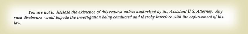 Subpoena excerpt