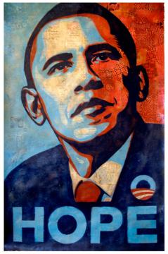 Fairey's Obama Image