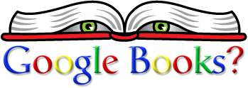 Creepy Google Books logo