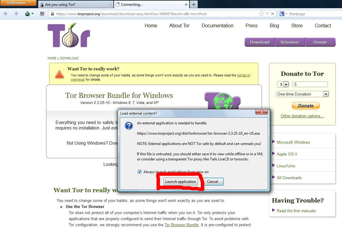 Tor Browser Attacked, Users Should Update Software Immediately