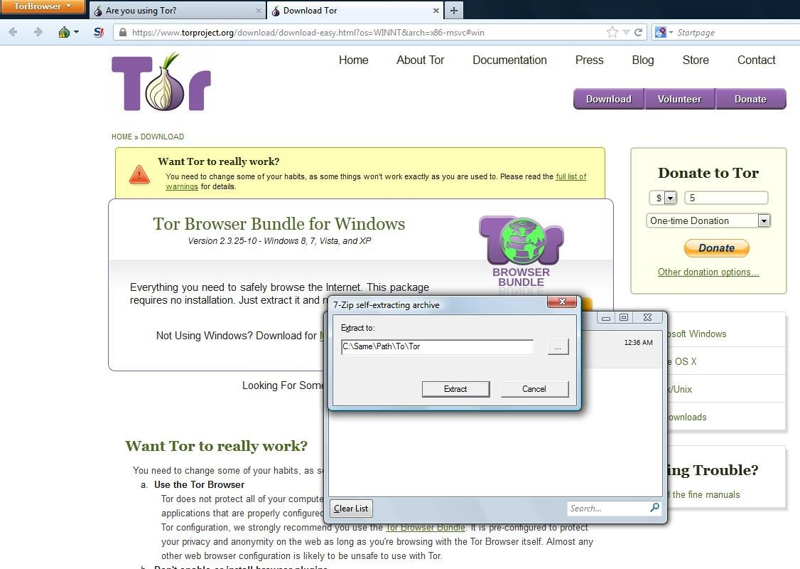 how to verify tor download