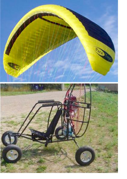 DARPA Parafoil Drone