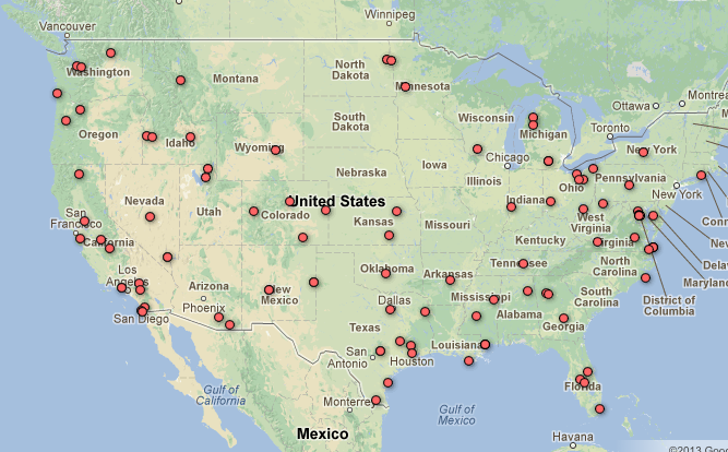 Faa Releases New Drone List Is Your Town On The Map Electronic Frontier Foundation