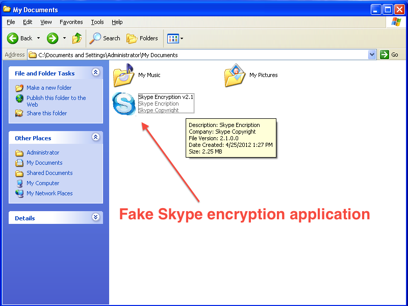 Fake Skype Encryption Tool Targeted at Syrian Activists