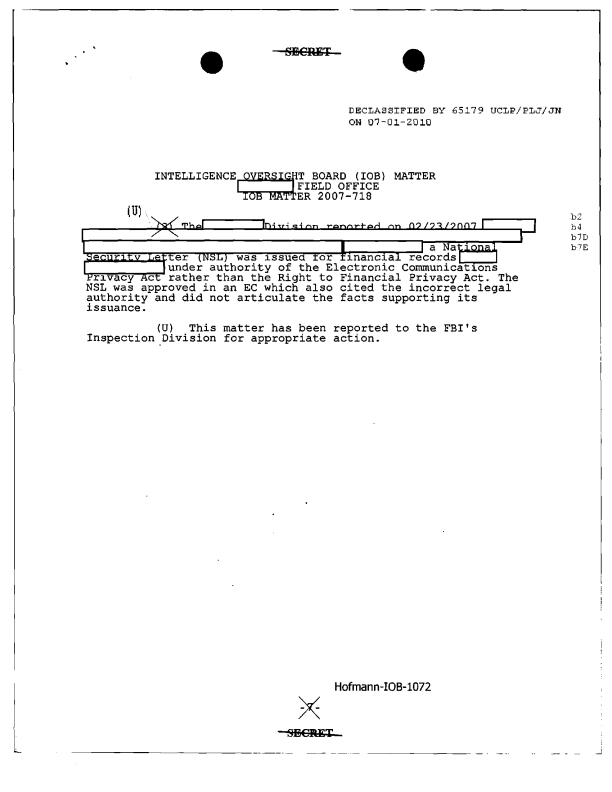 Fbi intelligence report template spiritdancerdesigns Choice Image