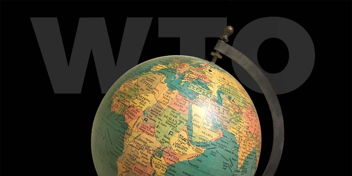WTO + globe